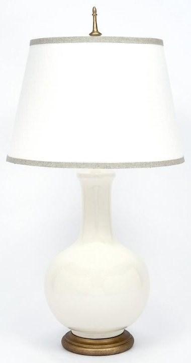 Eggshell Ceramic Lamp