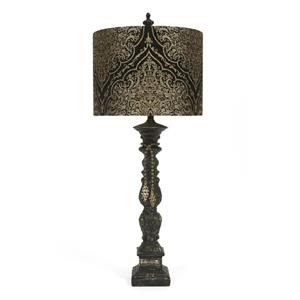Black and Gold Lamp