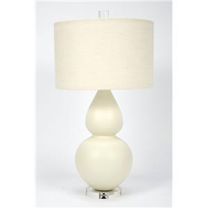 Matte Eggshell Table Lamp