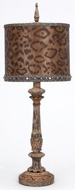 Cheetah Table Lamp