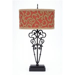 Chenille Table Lamp