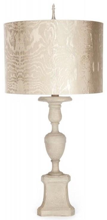 Savannah Cream Silk Lamp