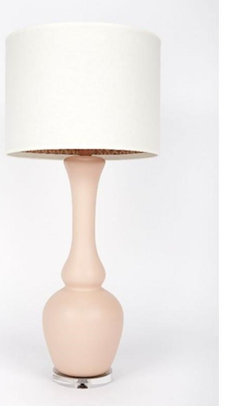 Oyster Ponce Rose Table Lamp