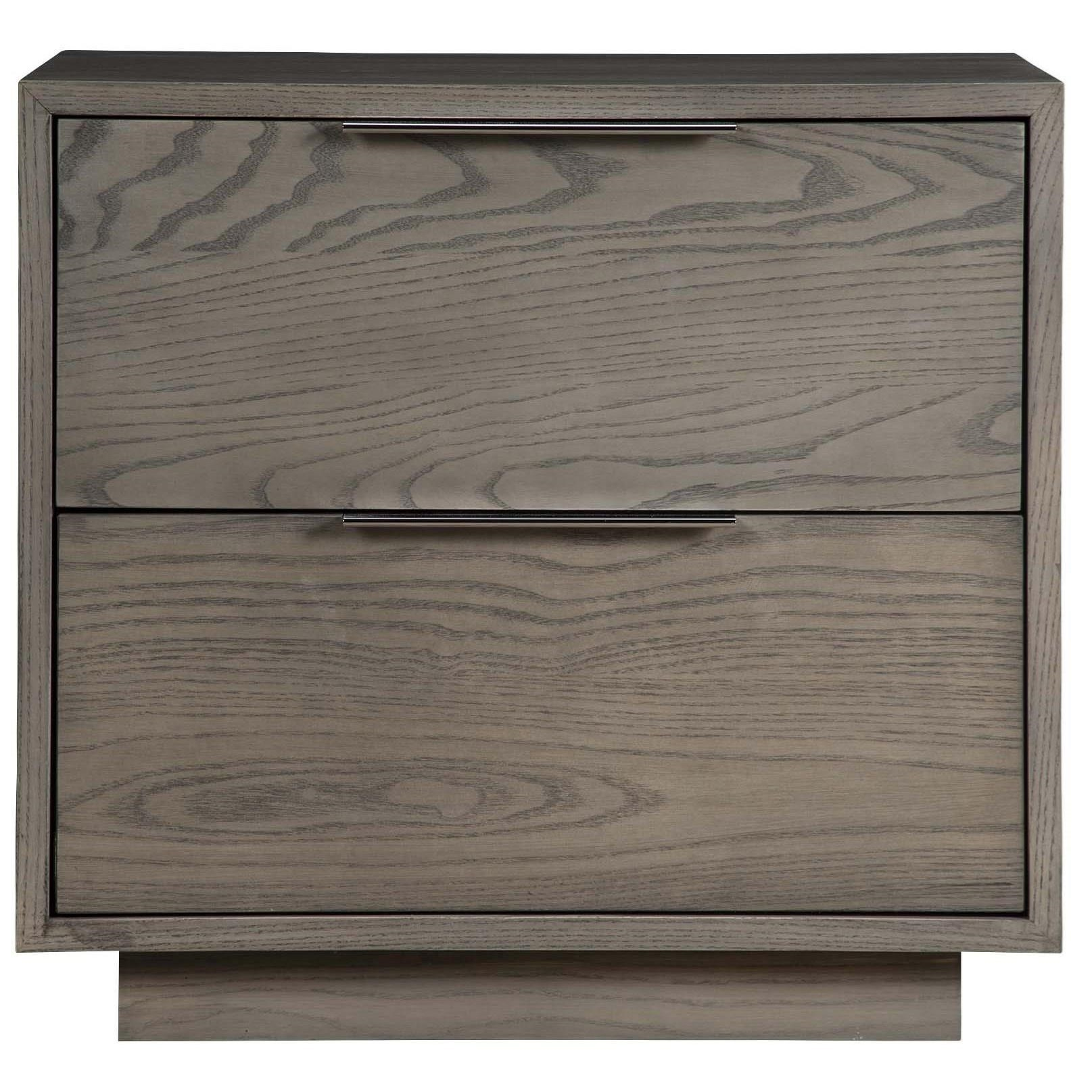 "Greenbrier Dartmoor 24"" Two Drawer Nightstand - Item Number: 82432"