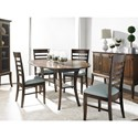 Greenbrier Dining Barbara Dining Table with Shelf