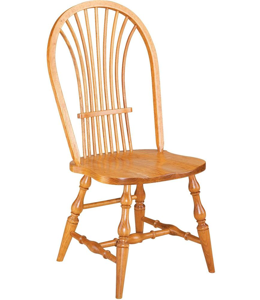 Greenbrier Dining Windsor Wheat Side Chair - Item Number: 71222