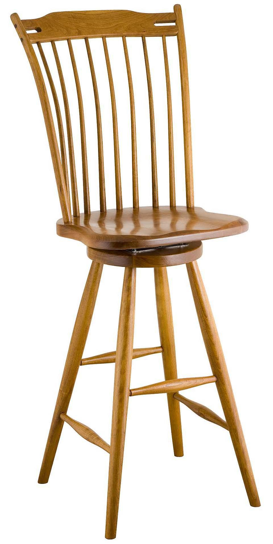 Greenbrier Dining Rod Back Bar Chair - Item Number: 71300