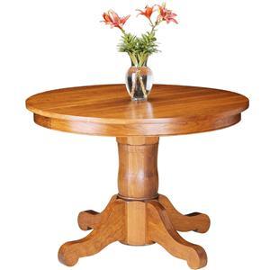 Gat Creek Dining Rockford Single Pedestal Table