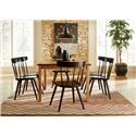 Greenbrier Dining Lana Dining Side Chair with Slat Back