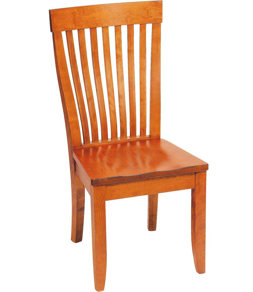 Greenbrier Dining Monterey Side Chair with Wooden Seat - Item Number: 81274