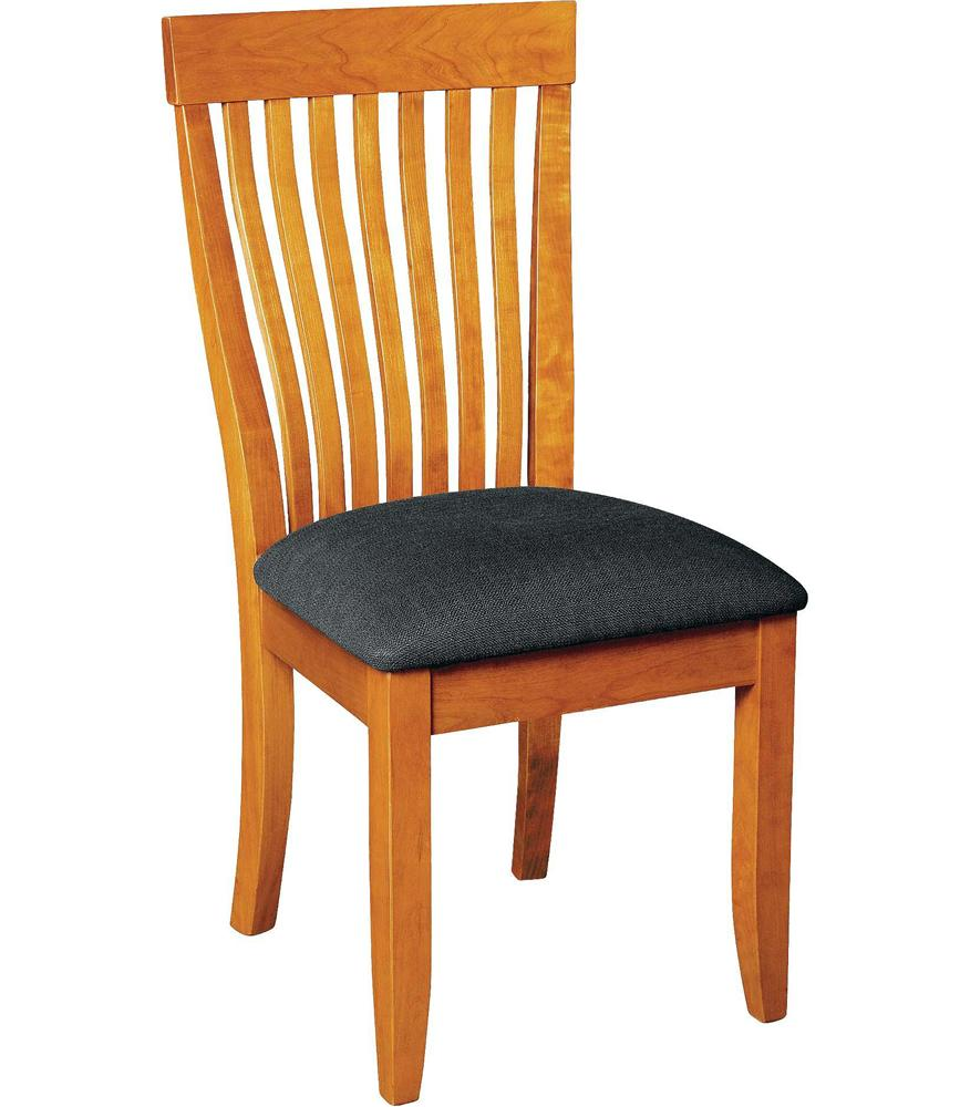 Monterey Side Chair with Upholstered Seat