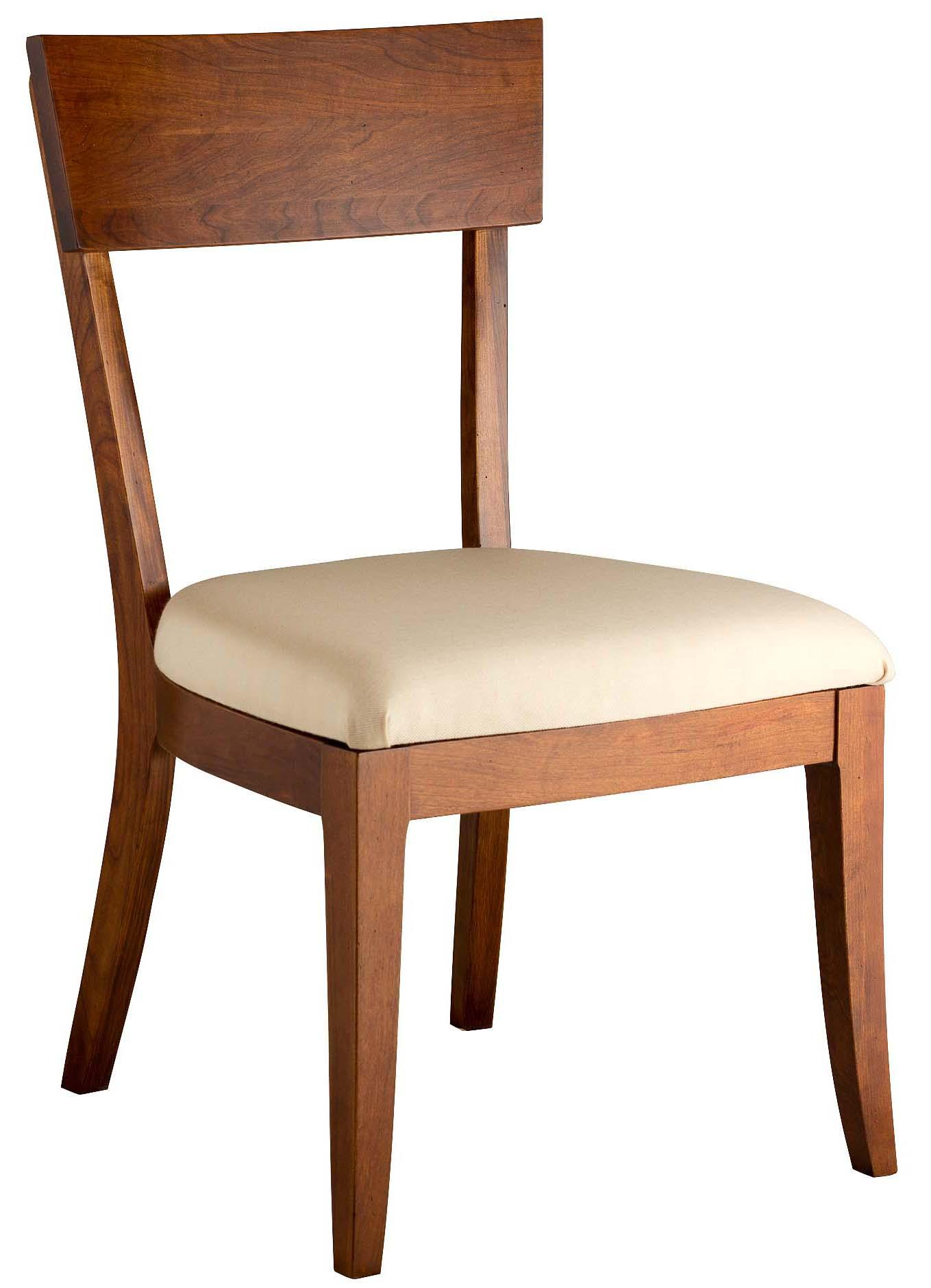 Greenbrier Dining Bella Side Chair with Upholstered Seat - Item Number: 81309