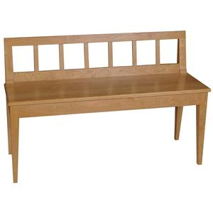 "Greenbrier Dining 46"" Geneva Bench"
