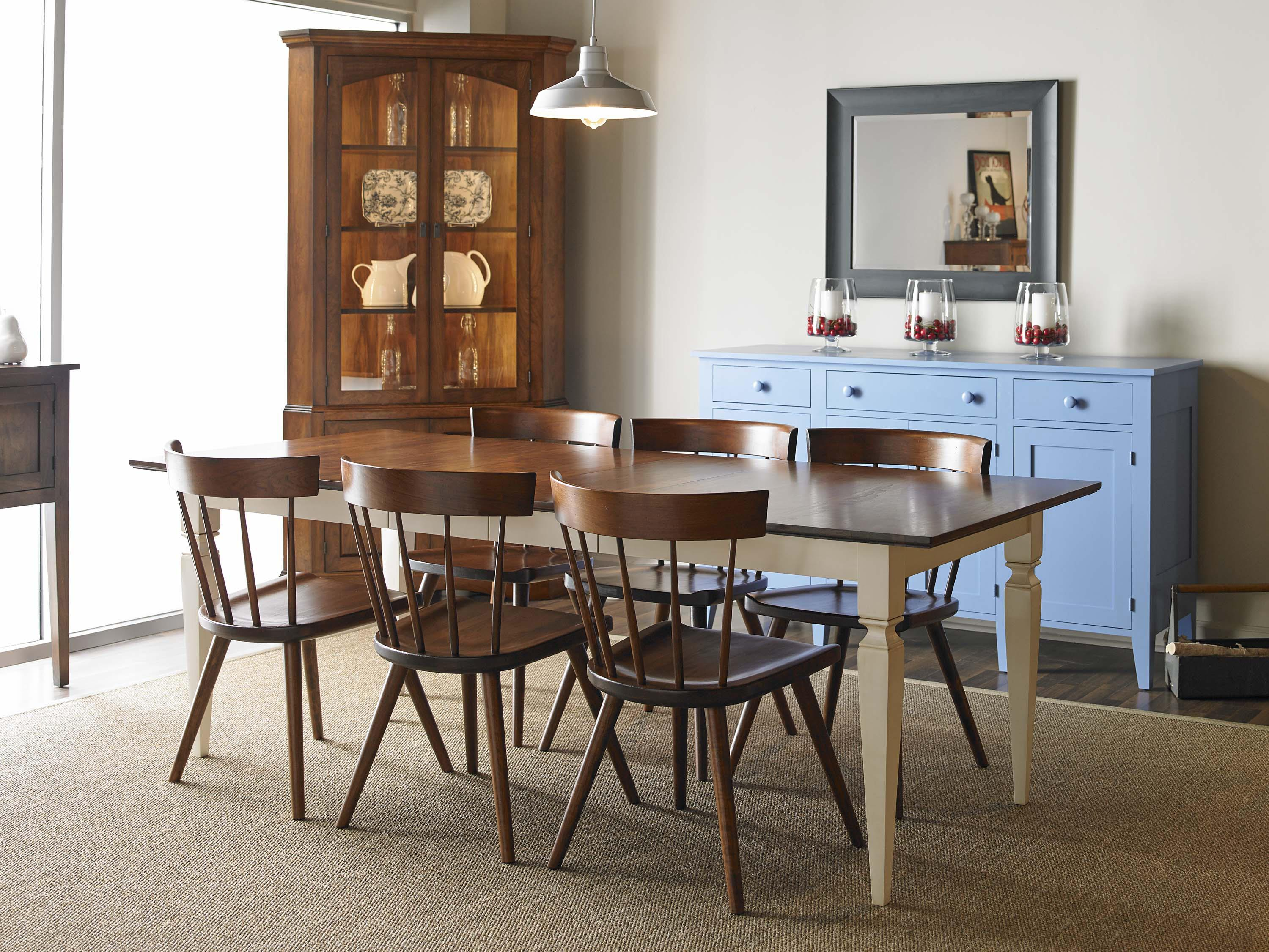 Dining Room Corner Cabinets Furniture: Greenbrier Dining Chase Corner China Cabinet With LED
