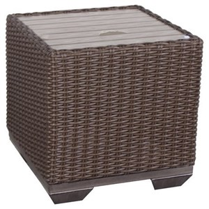 Outdoor Cube End Table