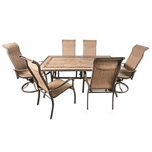 Morris Home Monterey Monterey 7-Piece Outdoor Dining Set
