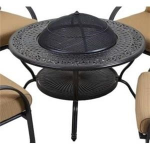 Morris Home Monterey Monterey 2-Piece Wood Burning Fire Pit