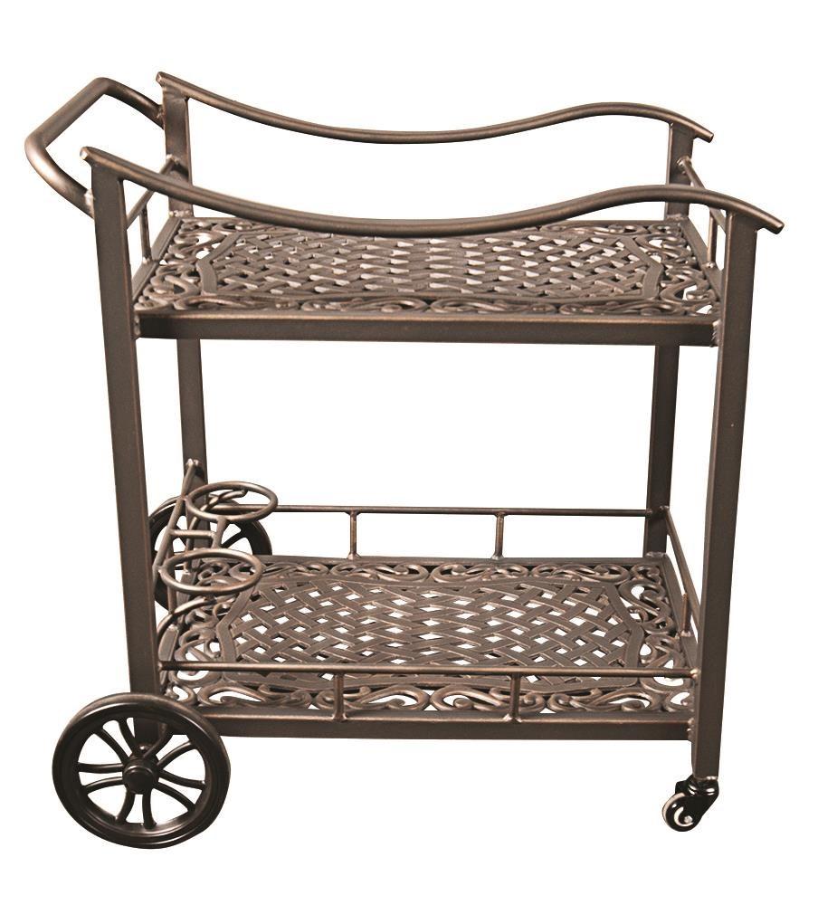 Morris Home Monterey Monterey Outdoor Tea / Bar Cart - Item Number: 808382813