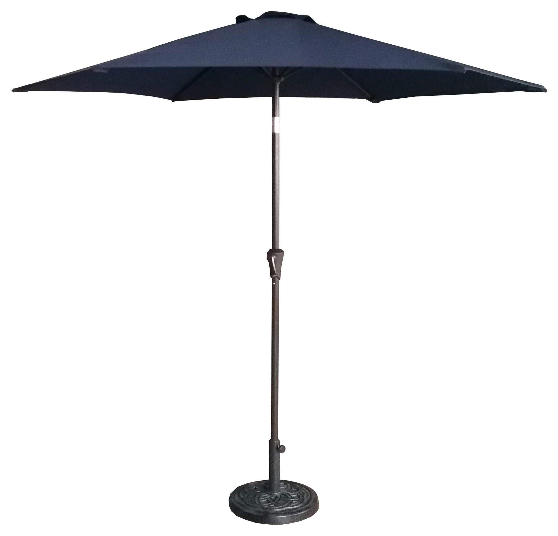 9' Navy Umbrella