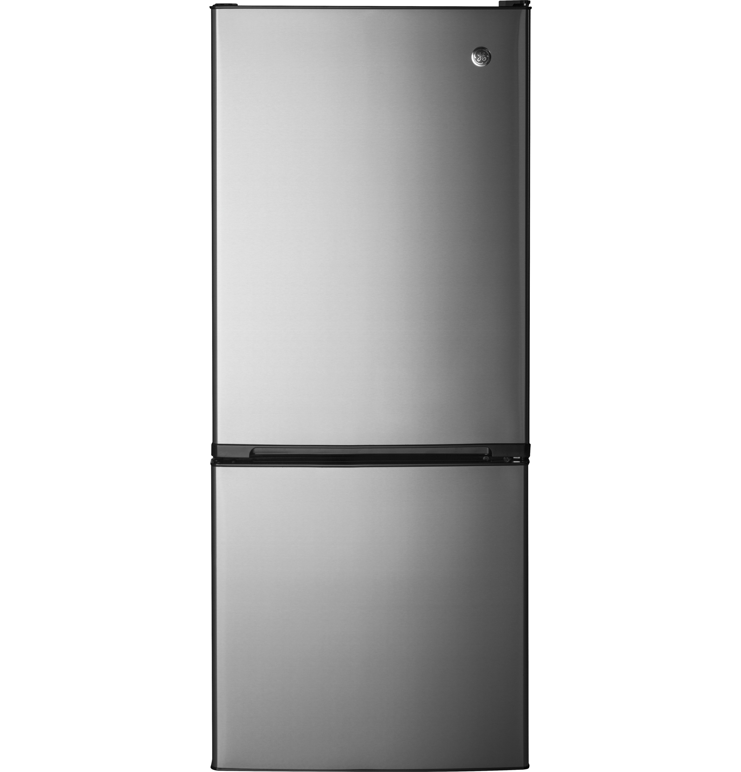 GE Appliances Bottom-Freezer Refrigerators 10.5 Cu. Ft. Bottom-Freezer Refrigerator - Item Number: GBE10ESJSB