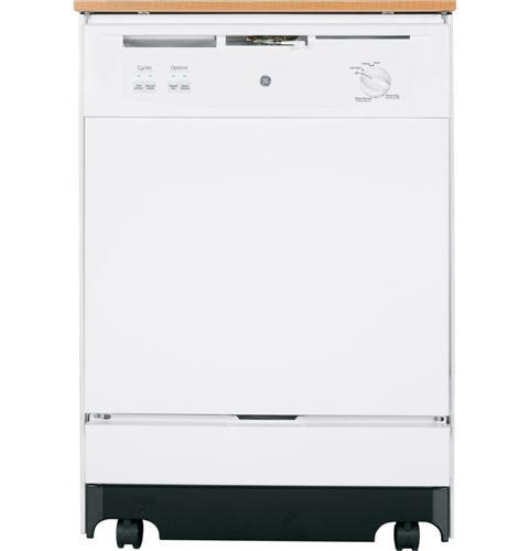 "GE Appliances Dishwashers 24"" Portable Dishwasher - Item Number: GSC3500DWW"
