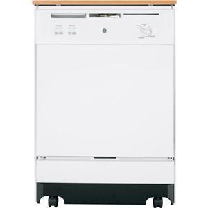 """GE Appliances Dishwashers 24"""" Portable Dishwasher"""