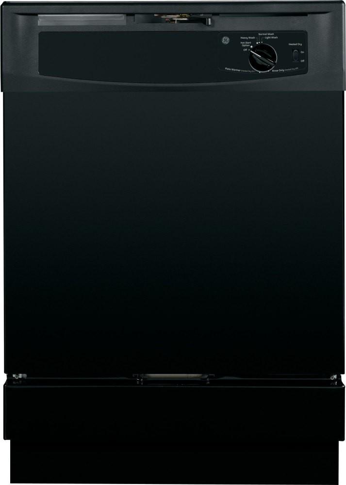 """GE Appliances Dishwashers 24"""" Built-In Dishwasher - Item Number: GSD2100VBB"""