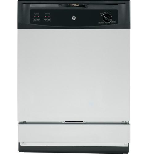 """GE Appliances Dishwashers  24"""" Built-In Dishwasher - Item Number: GSM2260VSS"""
