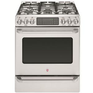 """GE Appliances Dual-Fuel Ranges 30"""" Freestanding Dual Fuel Range"""