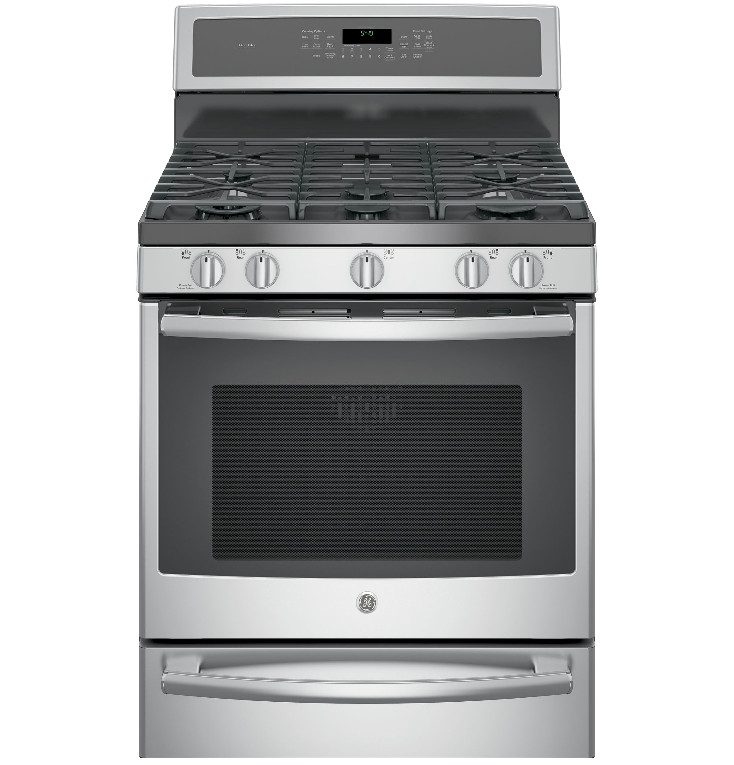 "Profile™ Series 30"" Dual-Fuel Range"