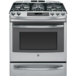 "GE Appliances Dual-Fuel Ranges 30"" Dual Fuel Slide-In Range"