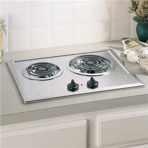 "GE Appliances Electric Cooktops 21"" Built-In Electric Cooktop"