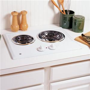 """GE Appliances Electric Cooktops 21"""" Built-In Electric Cooktop"""