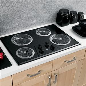 """GE Appliances Electric Cooktops 30"""" Built-In Electric Cooktop"""
