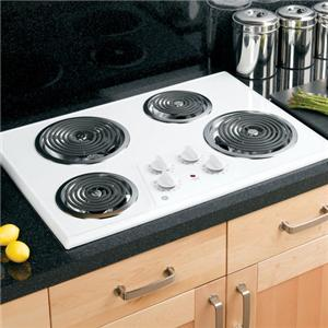 "GE Appliances Electric Cooktops 30"" Built-In Electric Cooktop"