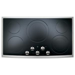 "GE Appliances Electric Cooktops 36"" Built-In Electric Cooktop"