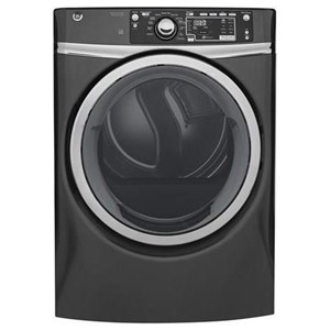 GE Appliances Electric Dryers - GE 8.3 Cu.Ft. Front Load Electric Steam Dryer