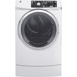 GE Appliances Electric Dryers - GE 8.3 Cu.Ft. Electric Steam Dryer