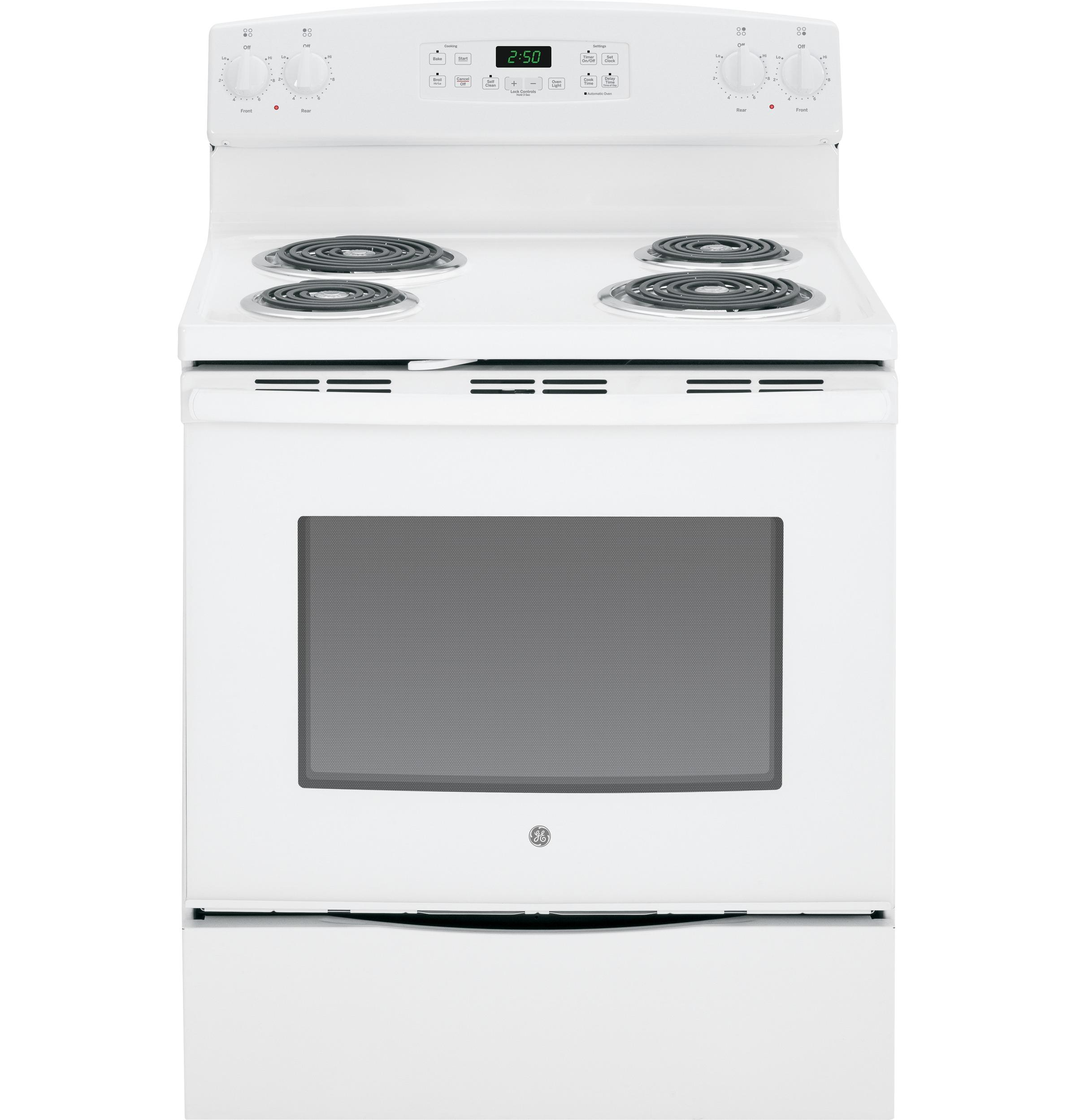 "GE Appliances Electric Range  30"" Free-Standing Electric Range - Item Number: JB250DFWW"
