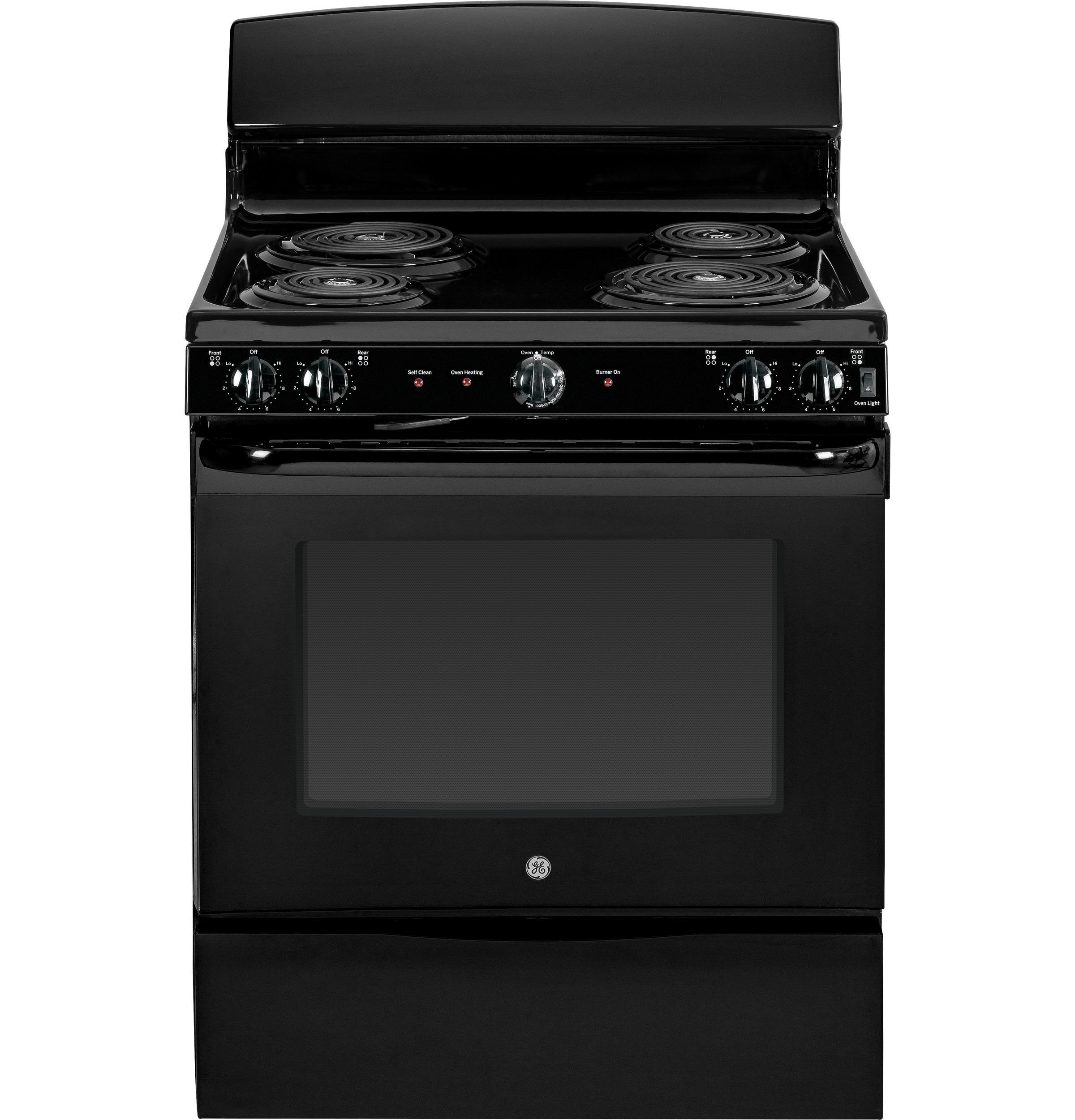 "GE Appliances Electric Range 30"" Free-Standing Electric Range - Item Number: JB450DFBB"
