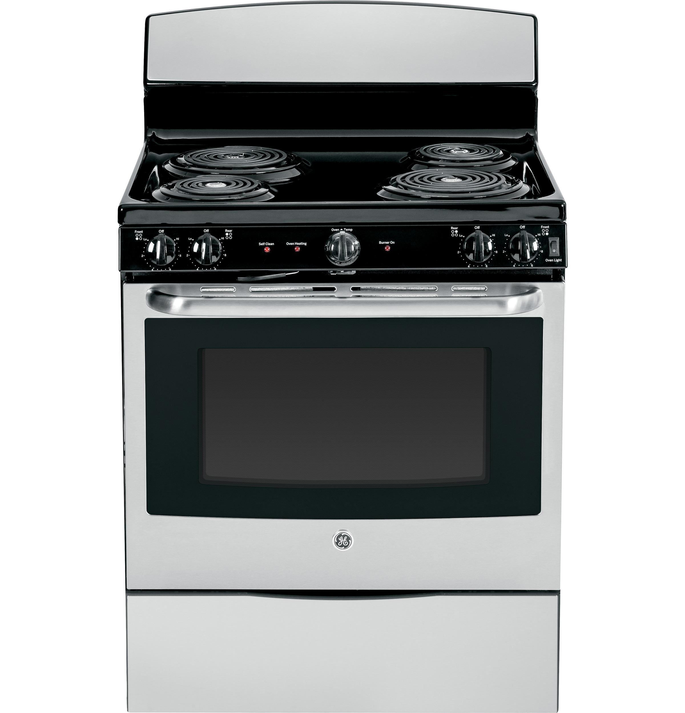 "GE Appliances Electric Range  30"" Free-Standing Electric Range - Item Number: JB450DFWW"