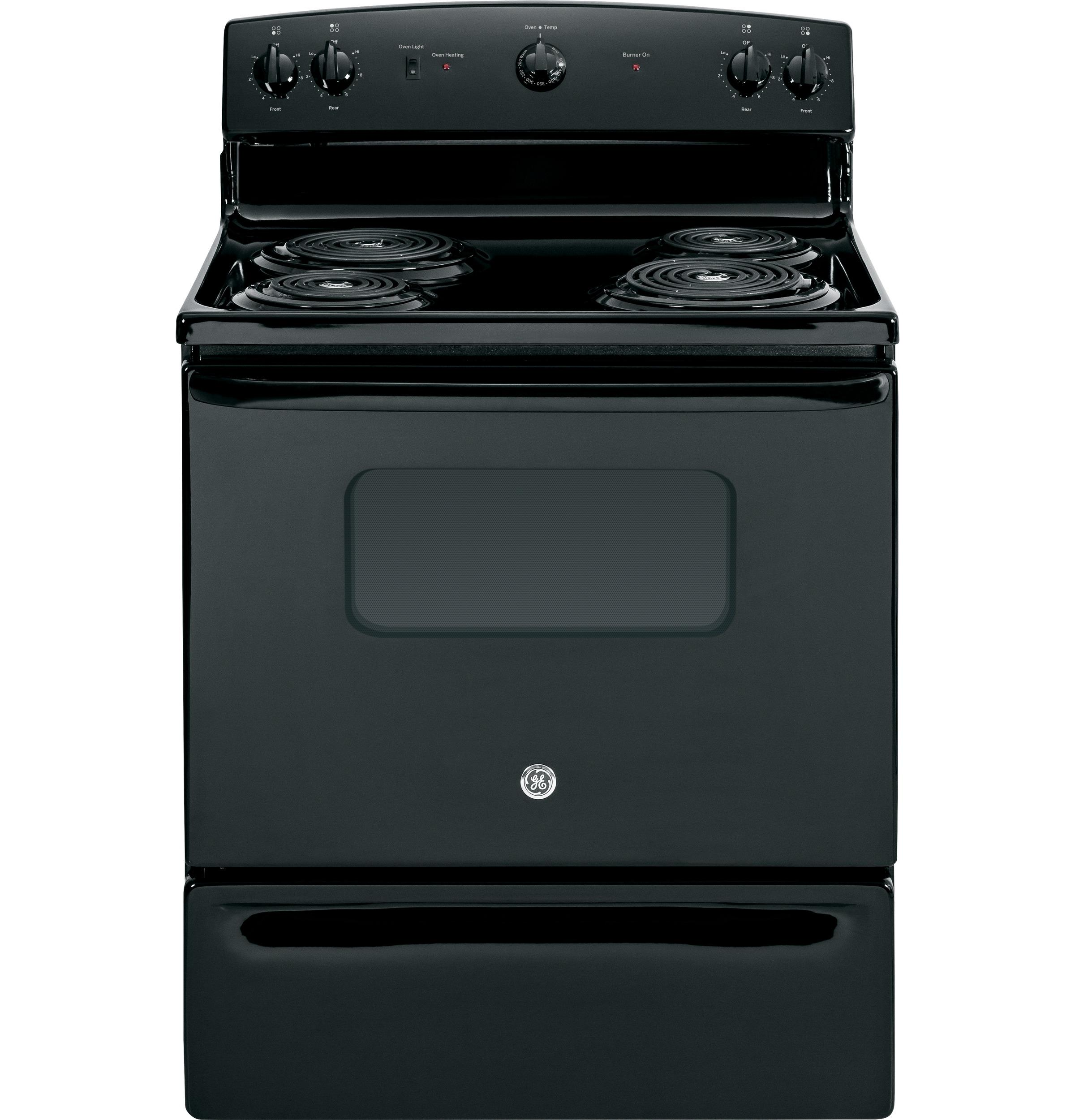 "GE Appliances Electric Range 30"" Free-Standing Electric Range - Item Number: JBS10DFBB"