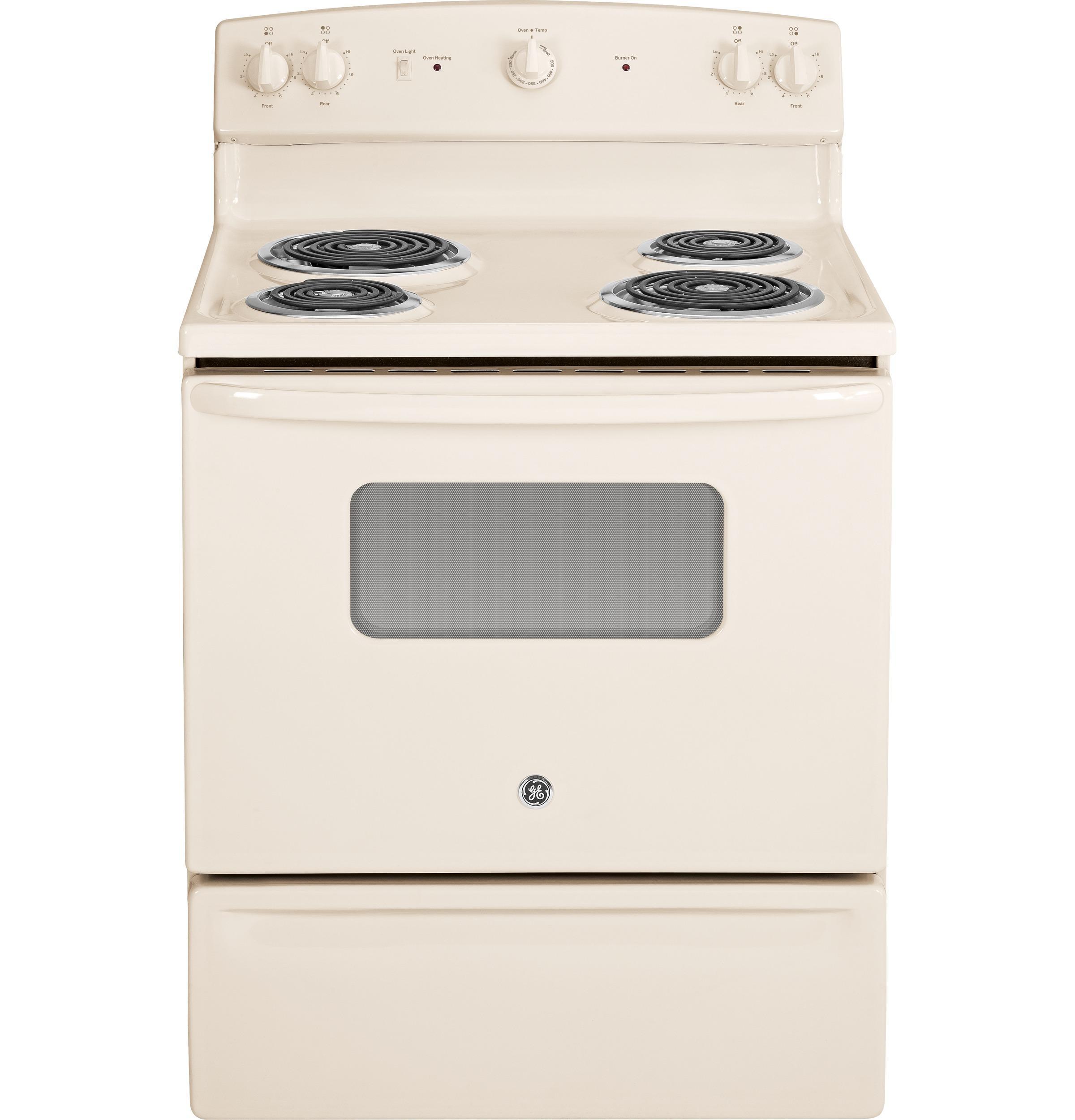 "GE Appliances Electric Range 30"" Free-Standing Electric Range - Item Number: JBS10DFCC"