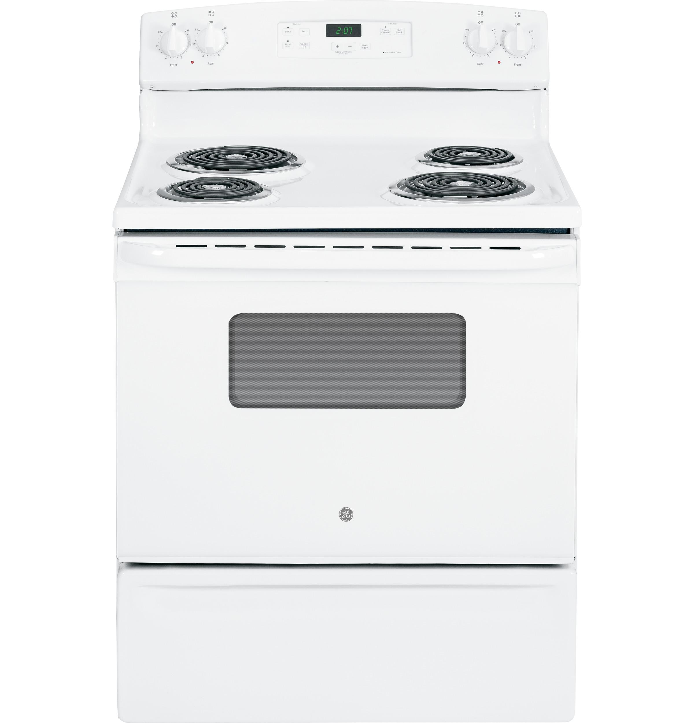 "GE Appliances Electric Range  30"" Free-Standing Electric Range - Item Number: JBS27DFWW"