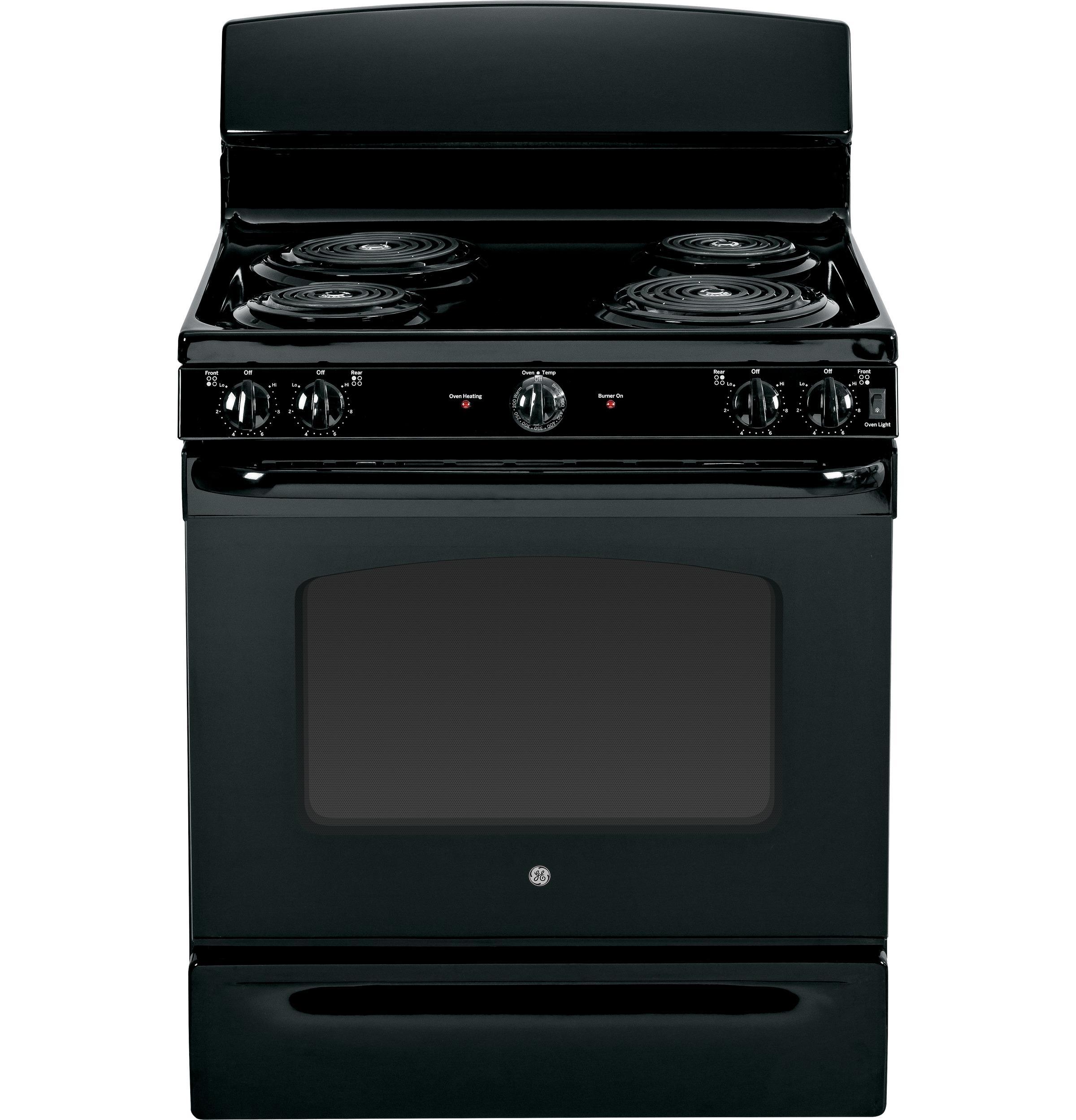 "GE Appliances Electric Range 30"" Free-Standing Electric Range - Item Number: JBS45DFBB"