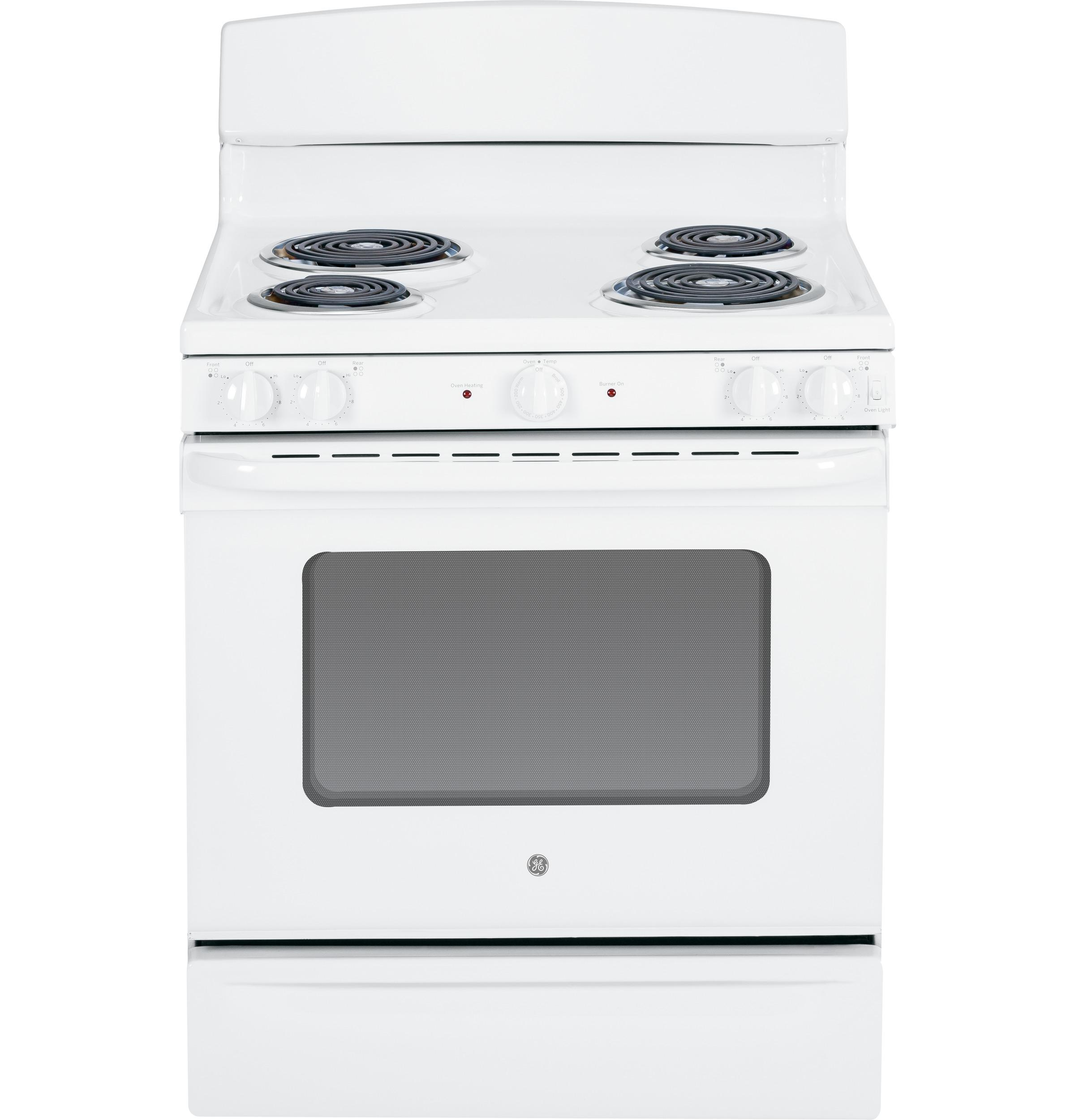 "GE Appliances Electric Range  30"" Free-Standing Electric Range - Item Number: JBS45DFWW"