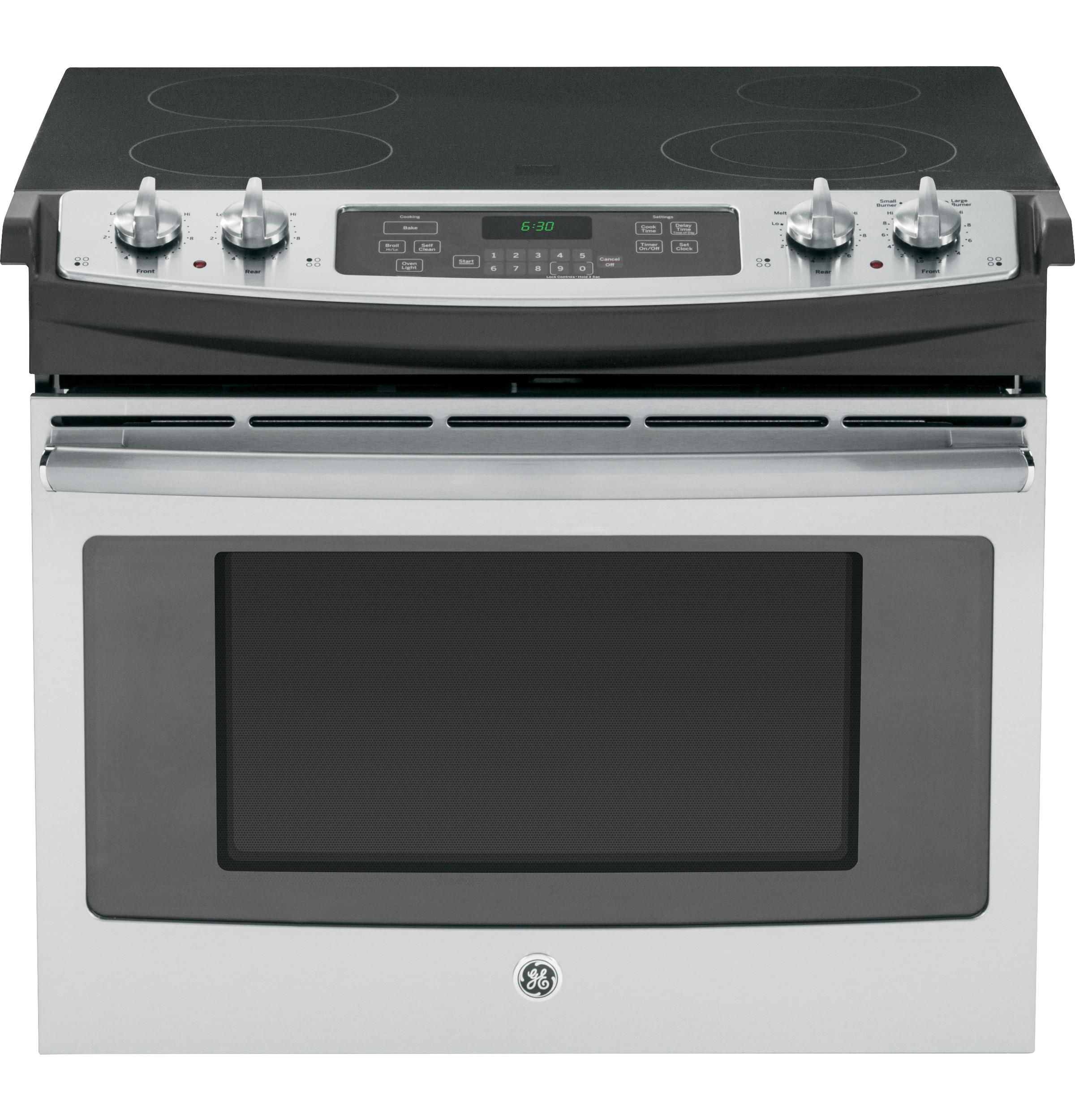 "GE Appliances Electric Range 30"" Drop-In Electric Range - Item Number: JD630SFSS"