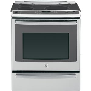 "GE Appliances Electric Range 30"" Slide-In Induction and Convection Range"