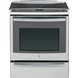 "GE Appliances Electric Range 30"" Slide-In Electric Convection Range"