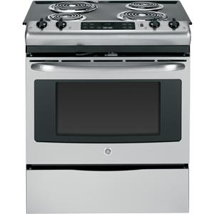 "GE Appliances Electric Ranges - 2014 30"" Slide-In Electric Range"